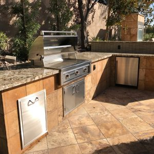 Outdoor Kitchen Remodel - After
