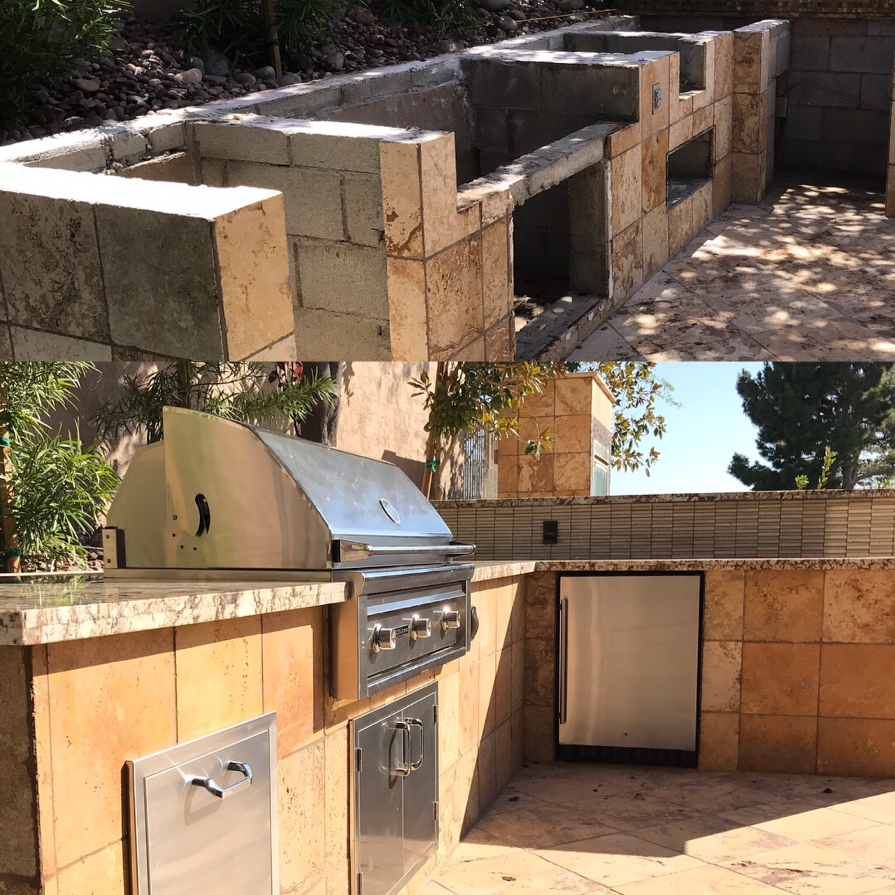 Before U0026 After   Outdoor Kitchen Remodel By BBQ Concepts Of Las Vegas,  Nevada