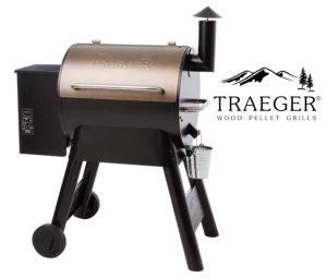 Traeger Pro Series 22 Bronze - Front