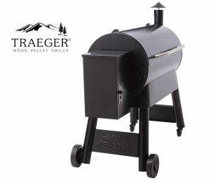 Traeger Pro Series 34 Smoker - Left Side