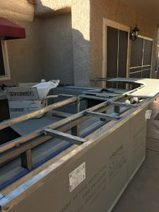 BBQ Concepts - 14 Gauge Galvanized 120 Steel Tubing Structural Framing