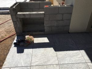 Cinder Block Construction