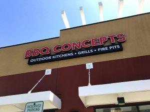 BBQ Concept Location - Fort Apache and Tropicanna - Las Vegas, Nevada